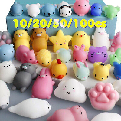 Mochi Squishy Toys Kawaii Squishies Toys for Kid Party Favors Cute Animals Toys