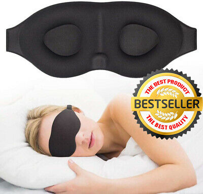 3D Sleep Mask For Men - Women Eye Mask For Sleeping Blindfold Travel Accessories