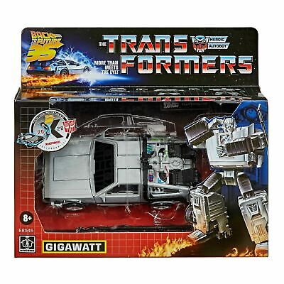 Transformers COLLABORATIVE BACK TO THE FUTURE - GIGAWATT - PREORDER JULY