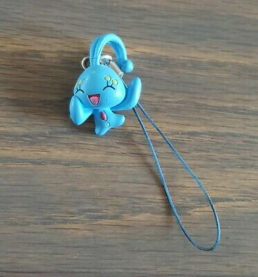 Pokemon Manaphy Phone Charm Cell Rare Movie Collectible Nintendo Official
