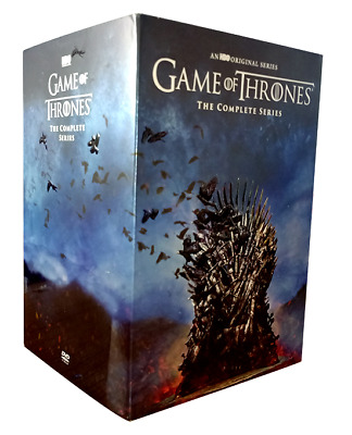 Game of Thrones Complete Series 1-8  DVD 15 DISC)Brand New seal Free Shipping