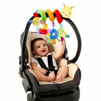 Baby Activity Spiral Hanging Toy Pushchair Stroller Bedding Car Seat Cot US
