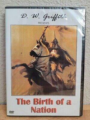 The Birth of a Nation D- W- Griffith DVD NEW SEALED