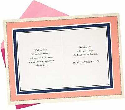 Mothers Day Card for Mom Wishing You a Beautiful Day