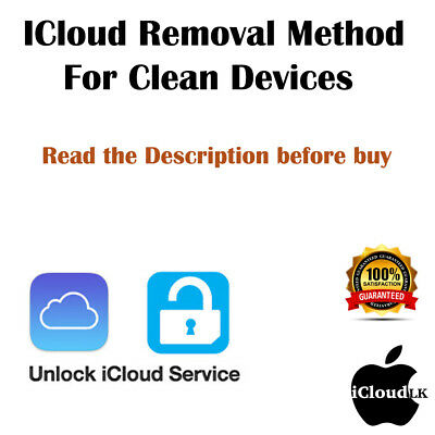 iCloudFMIRemoval iPhone iPad iWatch 100 GUARANTEED - Dont Buy Before read