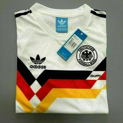 West Germany World Cup 1990 Football Soccer Classic Retro Jersey Shirt 1990
