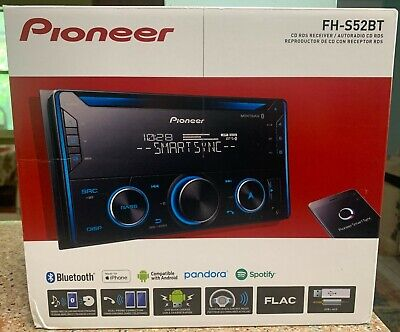 ✅ Pioneer FH-S52BT Double 2 DIN CD MP3 Bluetooth IN HAND FREE SAME DAY SHIPPING