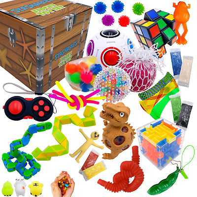 Sensory Fidget Toys Set - 25 Pack - Stress Relief and Anti Anxiety Toys for Kids