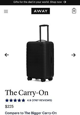 AWAY travel luggage - carry On