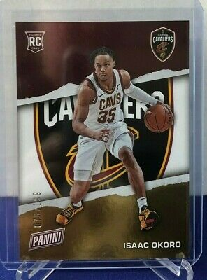 2021 Panini Fathers Fathers Day ISAAC OKORO SILVER RC 076199 Made Cavaliers