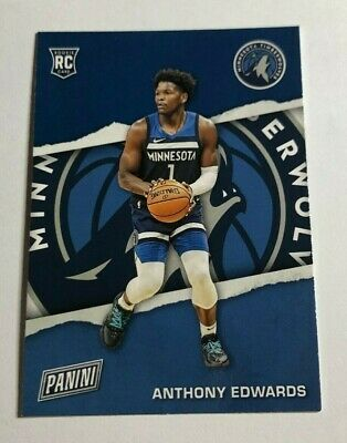 2021 Panini Fathers Fathers Day Rookie RC ANTHONY EDWARDS T-Wolves RC1