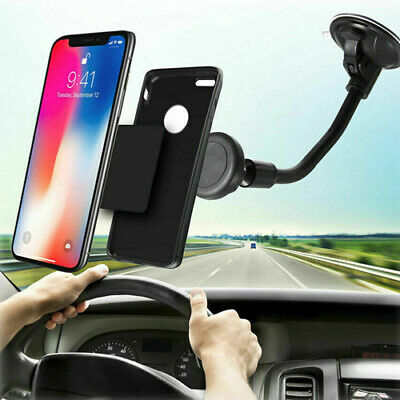 360° Mount Car Holder Windshield Stand For iPhone Samsung Mobile Cell Phone GPS