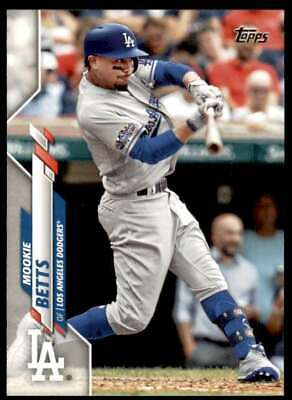 2020 Topps 420 Mookie Betts Los Angeles Dodgers
