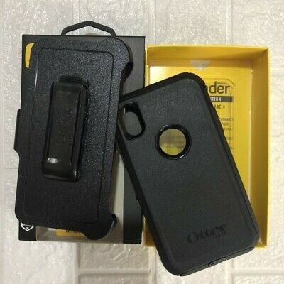 Otterbox Defender Series Rugged Case Cover With Belt Clip For Apple iPhone XR