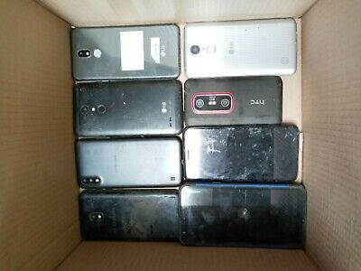 Lot of 20lbs of Cell Phones and Smartphones for Gold Scrap Recovery Only