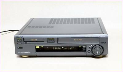 Used SONY WV-H4 Hi8 VHS Video Deck  good condition FS