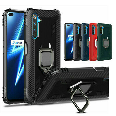 For OPPO Realme 66 Pro Hybrid Shockproof Armor Magnetic Kickstand Case Cover US