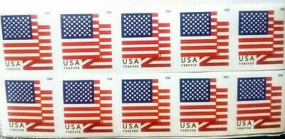 10-USPS-FOREVER-FIRST CLASS-PEEL AND STICK-U-S- STAMPS-UNGRADED-UNHINGED