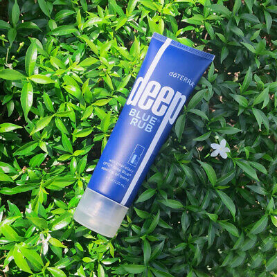 NEW AND SEALED FREE SHIPPING doTERRA Deep Blue Rub 4 oz NEW - SEALED EXP 2023