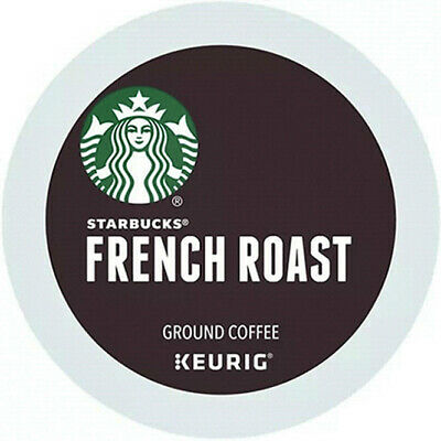 New Starbucks French Dark Roast Coffee K-Cup Pods  88 Count  EXP 05-2022