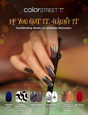 🎃👻 HALLOWEEN PRE-ORDER 🎃👻  COLOR STREET NAIL STRIPS