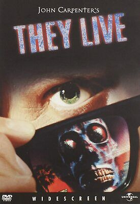 They Live New DVD Ships Fast