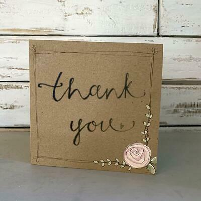 Thank You Cards Handmade paper Greeting Card
