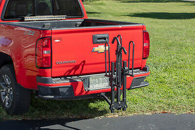 Hyper Tough Hitch-Mounted Platform 2-Bike Rack Fits Cars and Trucks with 1-25