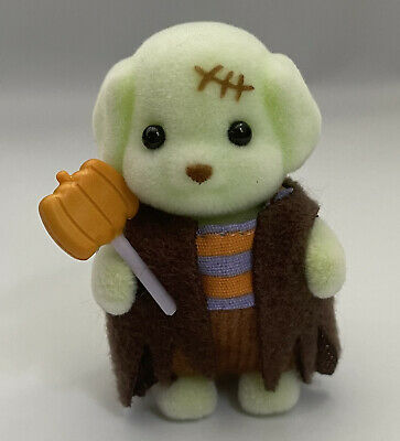 Sylvanian Families  Calico Critters Frankenstein Toy Poodle Halloween Baby