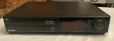 Working Condition Tested Sony Hi-Fi Stereo Video Cassette Recorder SLV-686HF