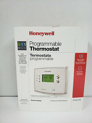 HONEYWELL Home RTH2410B 5-1-1 Day Programmable Thermostat -  White