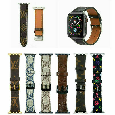 4244mm Luxury Leather Strap iWatch Band For Apple Watch Series SE654321