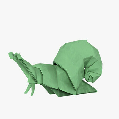 Origami Snail Paper Handmade Beautiful Gift For Friends