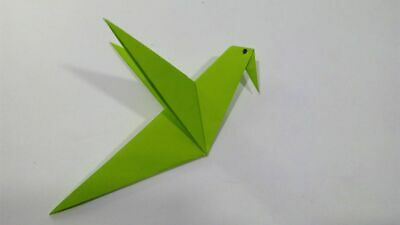 Origami Paper Handmade Bird Gifts For Family Or Friends