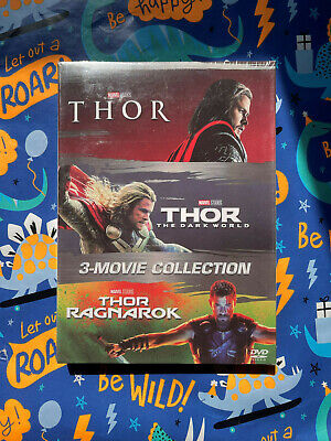 Thor Trilogy 3-Movie Collection DVD Brand New Sealed USA