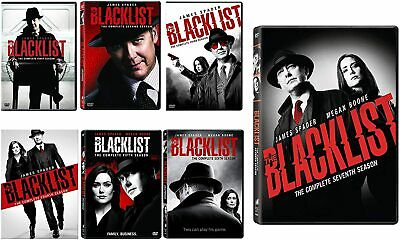 The Blacklist Complete Series 1-7 DVD34-Disc Box Set Brand NEW FREE Shipping