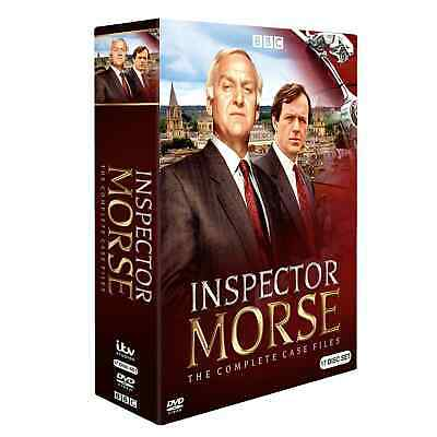 Inspector Morse The Complete Series DVD 17-Disc Set Free Shipping BRAND NEW