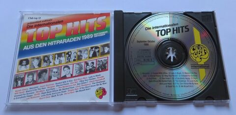 CLUB TOP 13 SEPTEMBER OKTOBER 1989 CD BAD BOYS BLUE KON KAN SOUL II SOUL