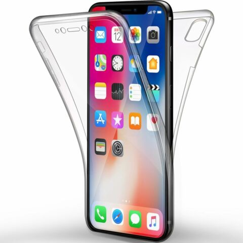 IPHONE X FULL BODY 360 SILIKON SCHUTZH LLE HANDYH LLE CASE COVER H LLE