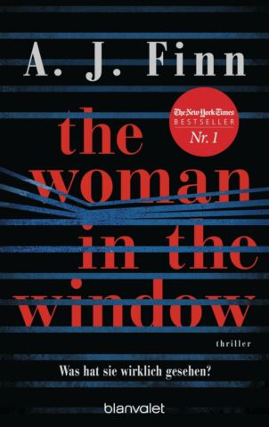 THE WOMAN IN THE WINDOW WAS HAT SIE WIRKLICH GESEHEN 19 03 2018 PAPERBACK
