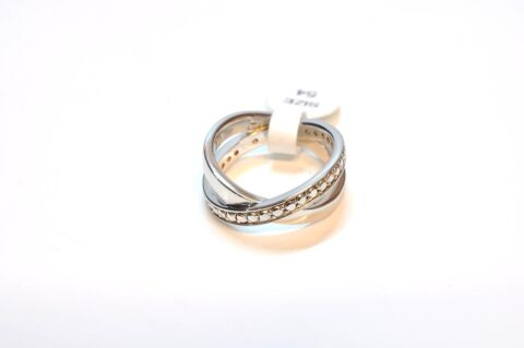 TED LAPIDUS DAMEN RING 925 STERLING SILBER ZIRKONIA 17 NZ4086 324