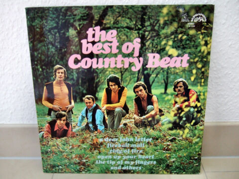 LP THE BEST OF COUNTRY BEAT