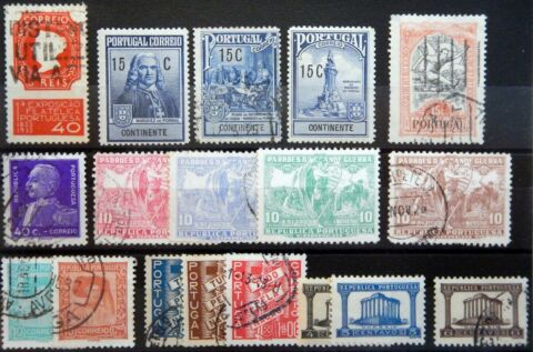 PORTUGAL EX KAT 378 590 USED MNH MH 1925 35
