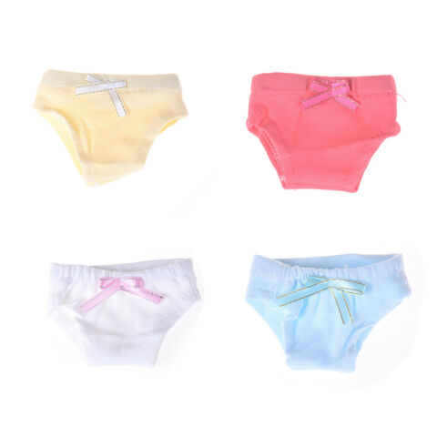 2X 43CM BABY DOLL OR 18 INCH DOLL CLOTHES UNDERPANTS DE