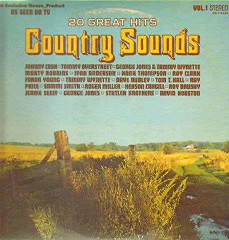 20 GREAT HITS COUNTRY SOUNDS VOL 1