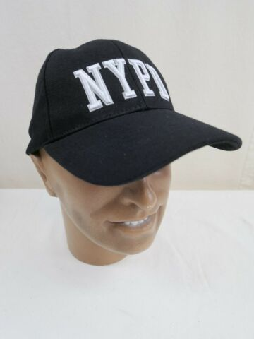 US BASEBALL CAP SCHIRMM TZE NYPD NEW YORK POLICE DEPARTMENT SCHWARZ NEU