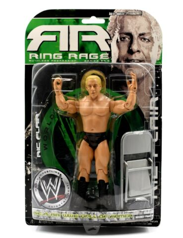 WWE RING RAGE RUTHLESS AGGRESSION SERIES 34 5 RIC FLAIR HALL OF FAMER