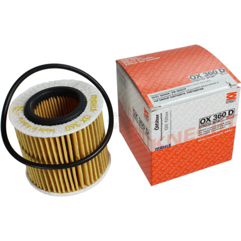 ORIGINAL MAHLE KNECHT LFILTER OX 360D L FILTER OIL