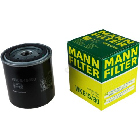 ORIGINAL MANN FILTER KRAFTSTOFFFILTER WK 815 80 FUEL FILTER
