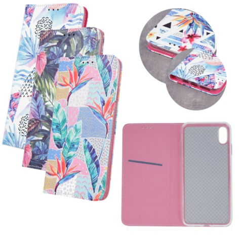 HANDY TASCHE FLIP COVER CASE SCHUTZ H LLE MOTIV SUMMER JUNE SAMSUNG J4 PLUS